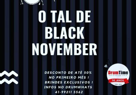 O TAL DE BLACK NOVEMBER !